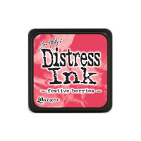 Leimamustetyyny, Distress Mini Ink, Festive Berries