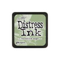 Leimamustetyyny, Distress Mini Ink, Bundled Sage