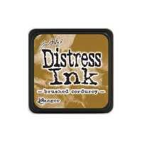 Leimamustetyyny, Distress Mini Ink, Brushed Corduroy