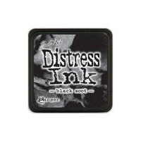 Leimamustetyyny, Distress Mini Ink, Black Soot