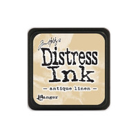 Leimamustetyyny, Distress Mini Ink, Antique Linen