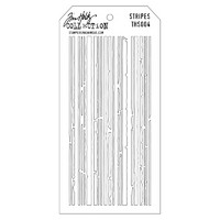 Tim Holtz Layered Stencil, Stripes