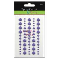 Enamel Dot, violetti, 60kpl