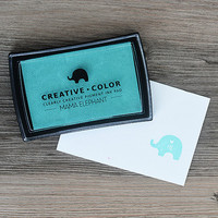 Mama Elephant Creative Color Pigment Ink-leimamuste, Rainwater