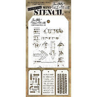 Tim Holtz Mini Layered Stencil, Set #15