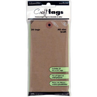Inkssentials Kraft Craft Tags #8 20kpl