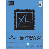 Canson XL Watercolor Paper 9