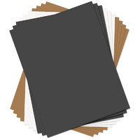 Sizzix Paper Leather, 8.5'X11', 10kpl