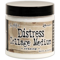 Tim Holtz Distress Collage Medium, Crazing, 113ml