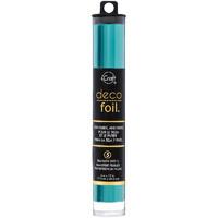 Deco Foil - Turquoise satin (T), 6