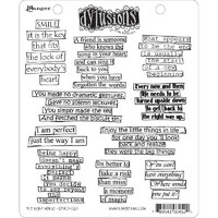 Dylusions Cling Stamp Collections, The Right Words