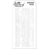 Tim Holtz Layered Stencil, Woodgrain
