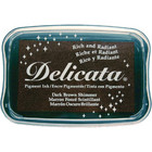 Delicata Pigment Ink, Dark Brown Shimmer
