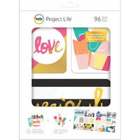 Project Life Value Kit, Mix & Match,  96osaa