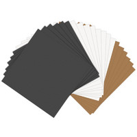 Sizzix Paper Leather, 6'x6', 20kpl