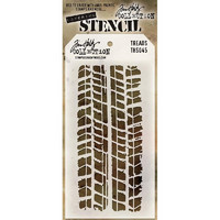 Tim Holtz Layered Stencil, Treads