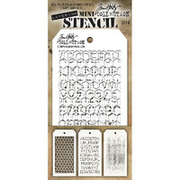 Tim Holtz Mini Layered Stencil, Set #8