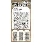 Tim Holtz Mini Layered Stencil, Set #14