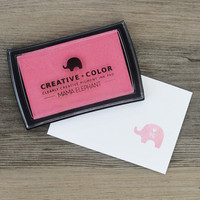 Mama Elephant Creative Color Pigment Ink-leimamuste, Piggy Bank