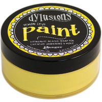 Dylusion Paint, Lemon Zest, 59ml
