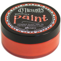 Dylusion Paint, Postbox Red, 59ml