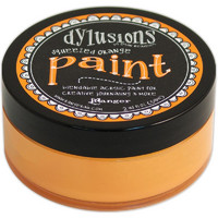 Dylusions Paint, Squeezed Orange, 59ml