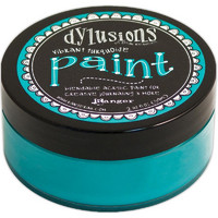 Dylusions Paint, Vibrant Turquoise, 59ml