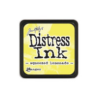 Leimamustetyyny, Distress Mini Ink, Squeezed Lemonade