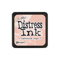 Leimamustetyyny, Distress Mini Ink, Tattered Rose