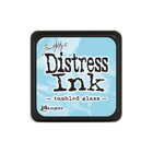 Leimamustetyyny, Distress Mini Ink, Tumbled Glass