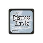 Leimamustetyyny, Distress Mini Ink, Weathered Wood