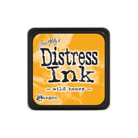 Leimamustetyyny, Distress Mini Ink, Wild Honey
