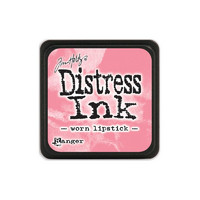 Leimamustetyyny, Distress Mini Ink, Worn Lipstick