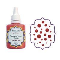 Enamel Dots-aine, Red Poppy, 30ml