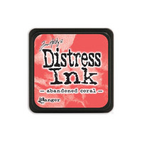 Leimamustetyyny, Distress Mini Ink, Abandoned Coral
