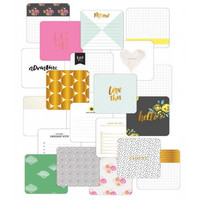 Project Life Specialty Foil Card Pack, Project 52 Fresh Edition, 20osaa