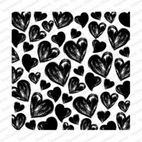 Cover-a-Card-leima, Painted Hearts