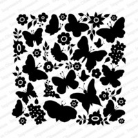 Cover-a-Card-leima, Butterfly Garden