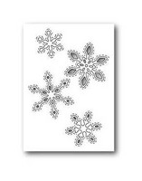 Stanssi, Stitched Snowflake Cutouts