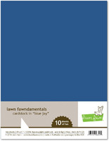 Lawn Fawn - Blue Jay Cardstock 8,5