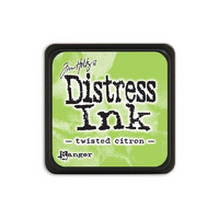 Leimamustetyyny, Distress Mini Ink, Twisted Citron