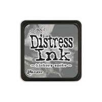 Leimamustetyyny, Distress Mini Ink, Hickory Smoke