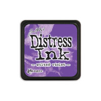 Leimamustetyyny, Distress Mini Ink, Wilted Violet