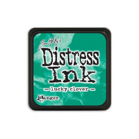 Leimamustetyyny, Distress Mini Ink, Lucky Clover