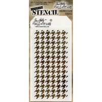 Tim Holtz Layered Stencil, Houndstooth