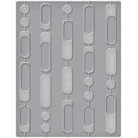 Kohokuviointitasku, Spellbinders Curtain Beads, 10,8x14cm