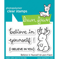 Leimasetti, Lawn Fawn, Believe In Yourself