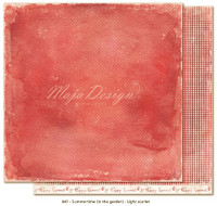 Maja Design - Summertime - Light scarlet