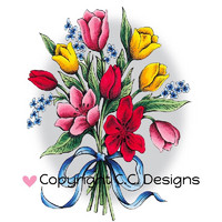 Leima, C.C. Designs, Dove Art Bouquet