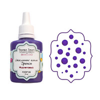 Glass Drops-aine, Purple, 30ml